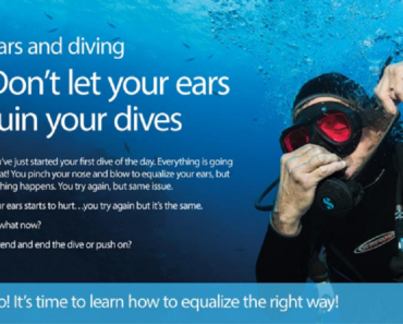 A Guide to your Ears and Scuba Diving